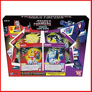 Transformers Trading Card Game : Blaster vs Soundwave Deck 35th Anniversary Edition