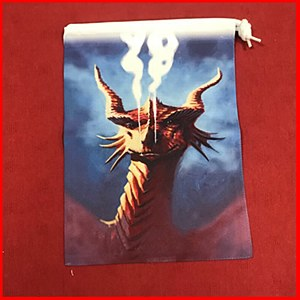 Smoulder Dragon Dice Bag : Medium