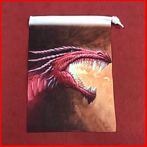 Fiery Dragon Dice Bag : Small