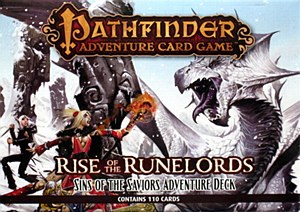 Rise of the Runelords : Sins of the Saviors Adventure
