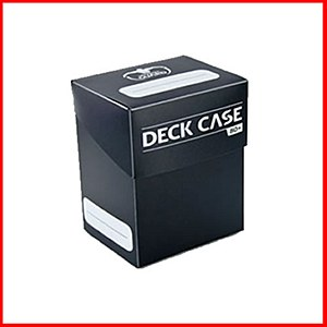 Ultimate Guard : Deck Case : 80+ Cards : Black