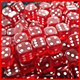 12mm D6 Gem (9) Red