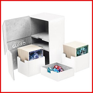 Ultimate Guard : TwinFlip Tray : 200+ Cards : White