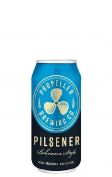 Propeller Pilsner 473ml Can