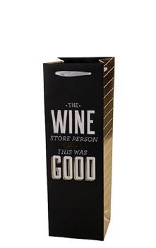 Wine Store Person Wine Bag