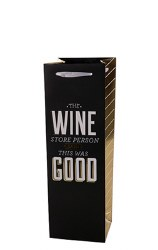 Wine Store Person Wine Bag