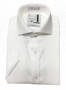 S/S Slim Non Iron Shirt White