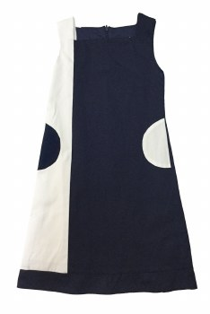 Colorblock Jumper Navy/White 6
