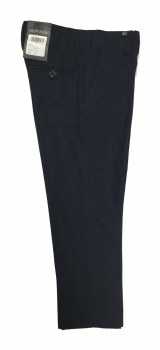 Skinny Brushed Pants Navy 2