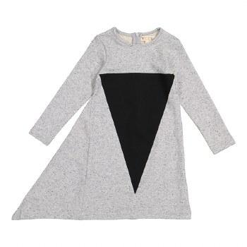Triangle Dress Grey/Black 6