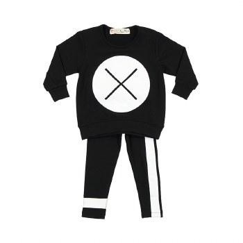 Baby XO Set Black/White 9M
