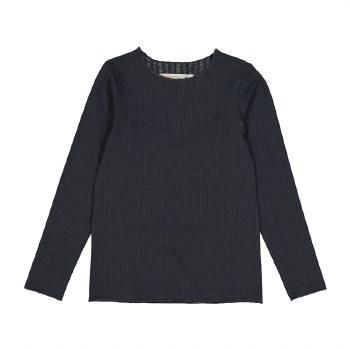 Rib Tshirt Charcoal 6