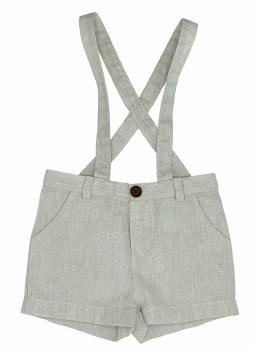 Suspender Shorts Grey 18M