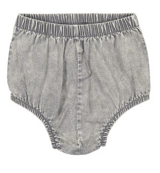 Analogie Denim Bloomers Grey 1