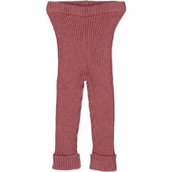 Analogie Rib Knit Leggings Mau