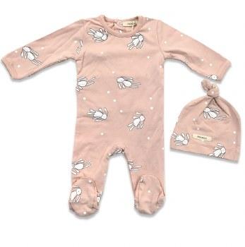 Rag Doll Stretchie Set Pink 1M