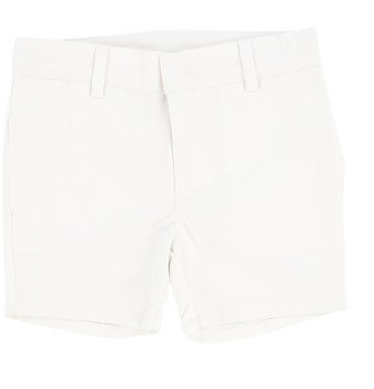 Lil Legs Cotton Shorts White 2