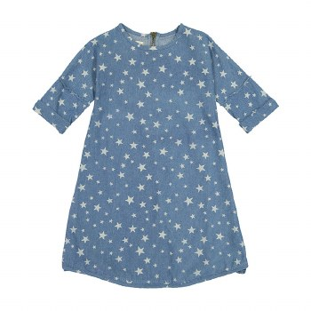 Denim Dress w/ Stars Light 8