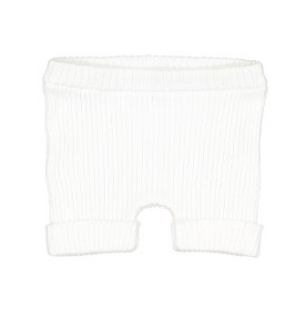 Analogie Knit Shorts White 9M