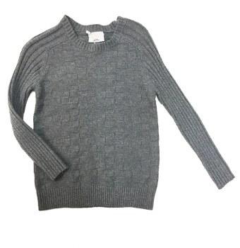 Textured Sweater Grey 4