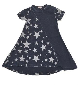 Denim Star Dress Dark 3