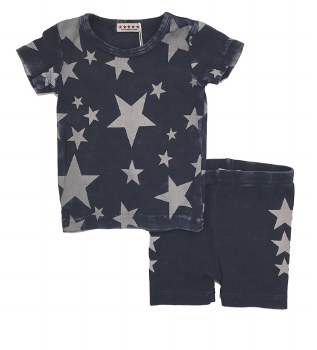 Denim Stars Baby Set Dark 12M