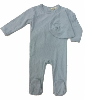 Textured Stretchie Set Blue 1M