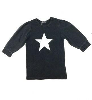 Puff Sleeve Tshirt Dark 7