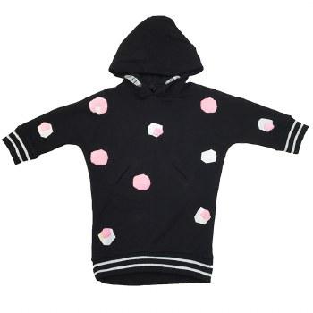 Dress W/ Band Black/Pink 10