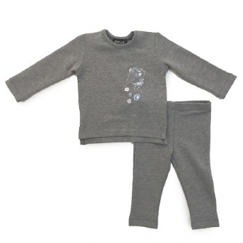 YoYo Baby Set Grey 24M