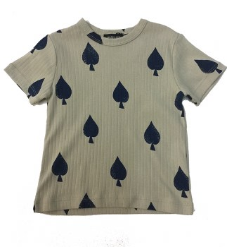 Spade S/S Tshirt Taupe 3