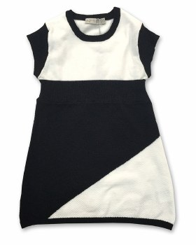 Knit Jumper Black/White 6
