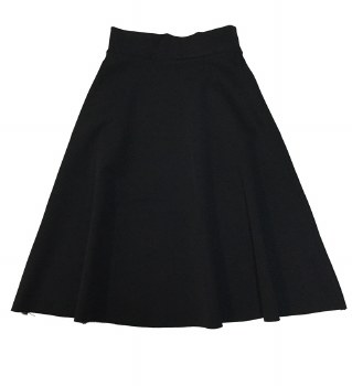 Reversible Teen Skirt Black/Wh