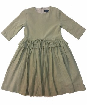 Dress W/ Drawstring Taupe 4