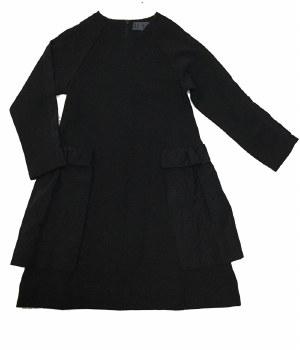 Dress W/ Side Panels Black 6