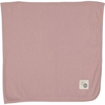 Lil Leggs Ribbed Blanket Mauve