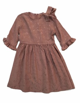 Dress w/ Print Mauve 5
