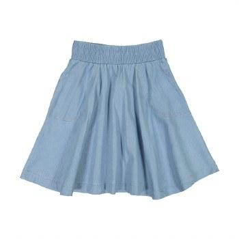 Denim Circle Skirt Light 7