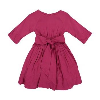 Fit n Flair Dress Raspberry 6