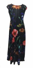 Floral Jumper Robe Black 18