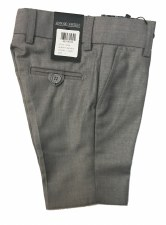 Slim Dress Shorts LtGrey 2