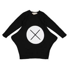 XO Dress Black/White 16