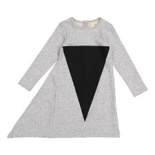 Triangle Dress Grey/Black 6