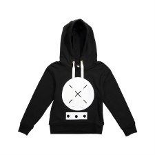 XO Hoodie Top Black/White 7