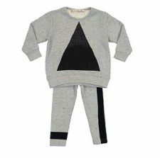 Baby Triangle Set Grey/Black 9