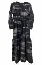 Robe W/ Metallic Brushstrokes