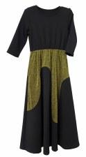 Wavs Metallic Robe Black/Gold