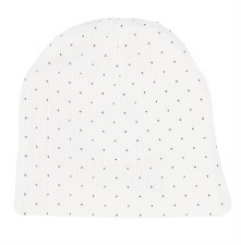 Analogie Dot Beanie White/Blue