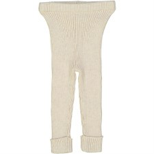 Analogie Rib Knit Leggings Ecr