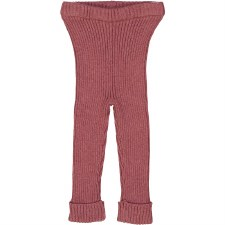 Analogie Rib Knit Leggings Mau